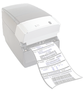 Print barcode label